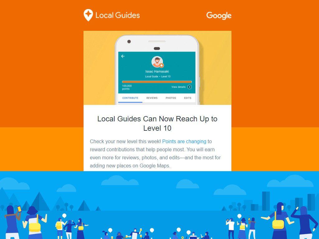 Google Local Guide Level