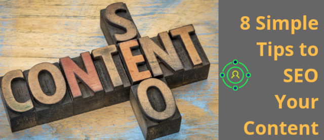 8 tips to seo your content