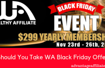 Should You Take WA Black Friday Offer
