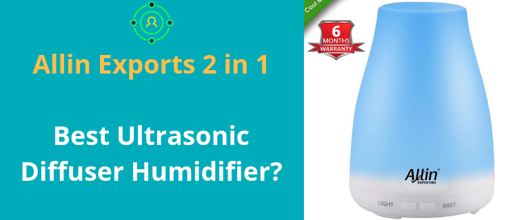 Allin Exporters 2 in 1 diffuser and humidifier