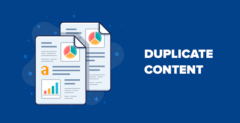 duplicate content can harm your site