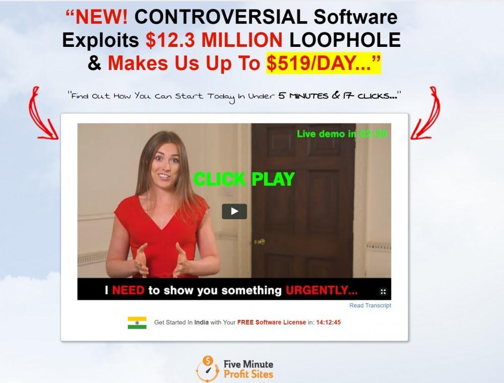 is 5 minute profit sites a scam