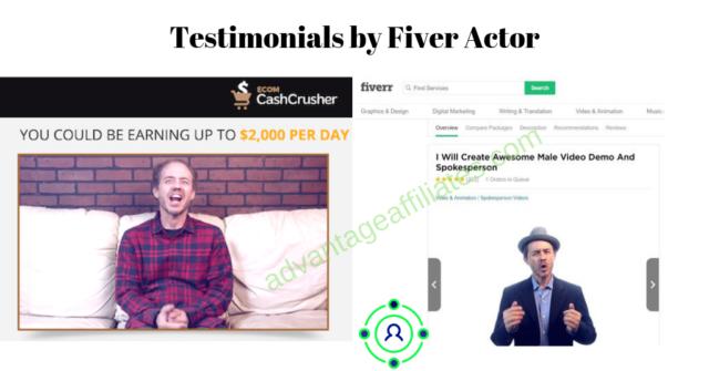 Fake Testimonials by E com Cash Crusher