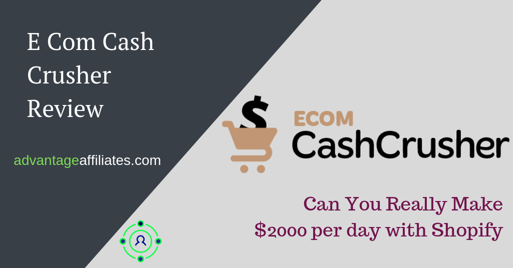ECom Cash Crusher hiding the facts about Shopify