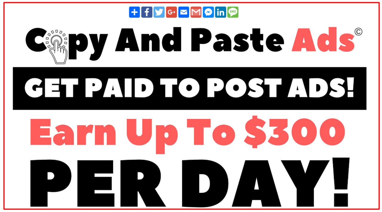 Homepage Copy And Paste Ads
