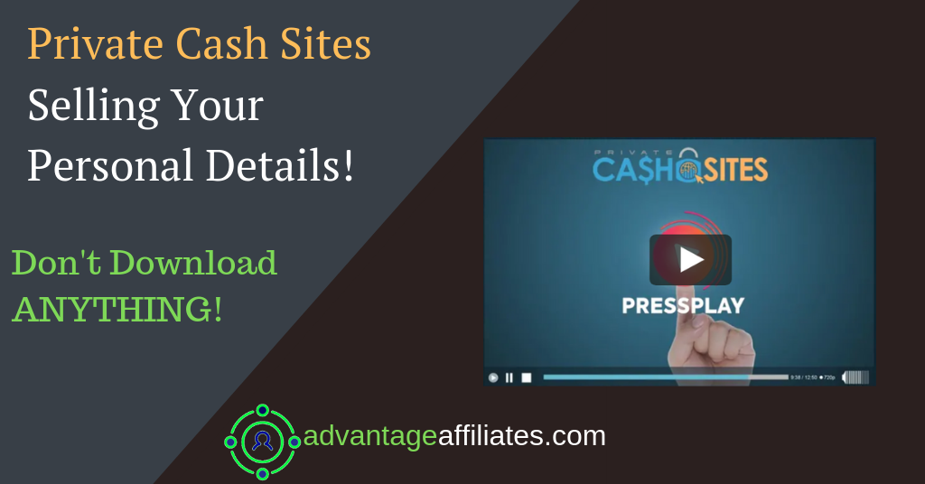 feature image of private cash sites