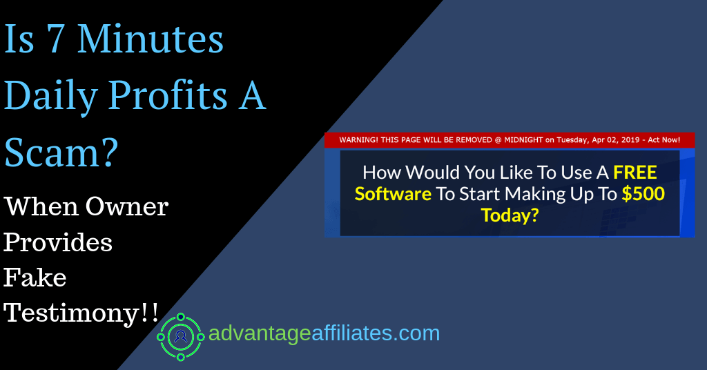 feature image of 7 minutes daily profits