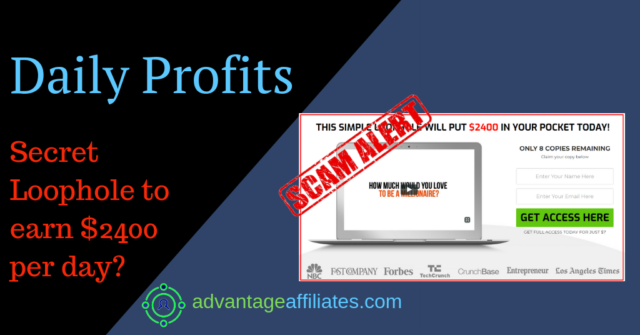 daily profits review feature image