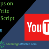 simple tips on how to write youtube script