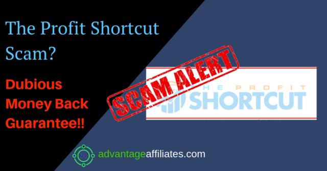 The profit shortcut scam