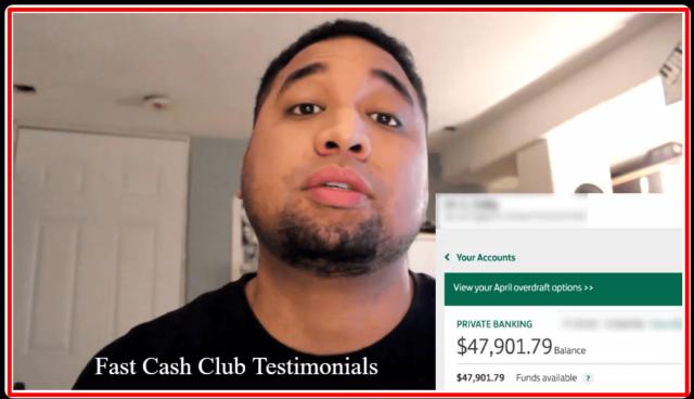 fast cash system testimonial
