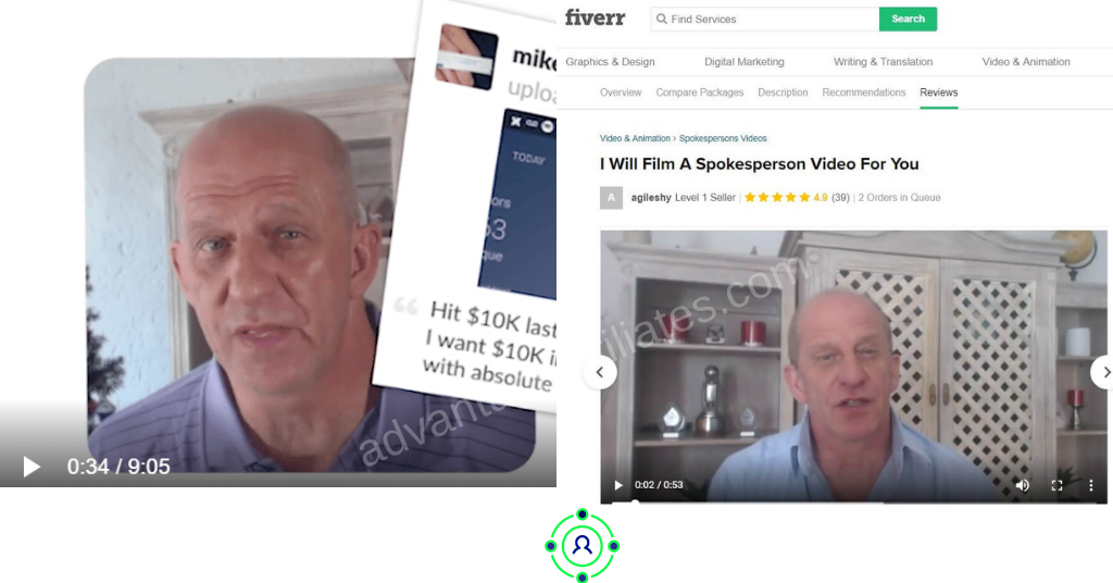 fake testimonials by 100k online profits