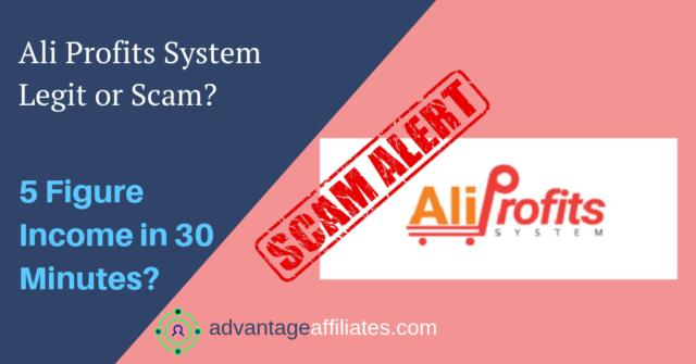 ali profits scam or legit