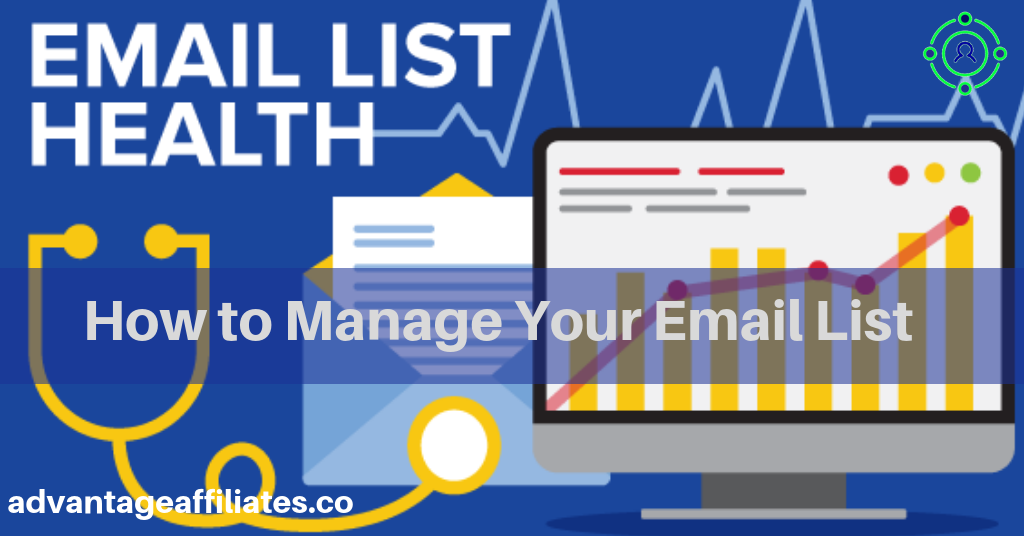 how to manage your email list