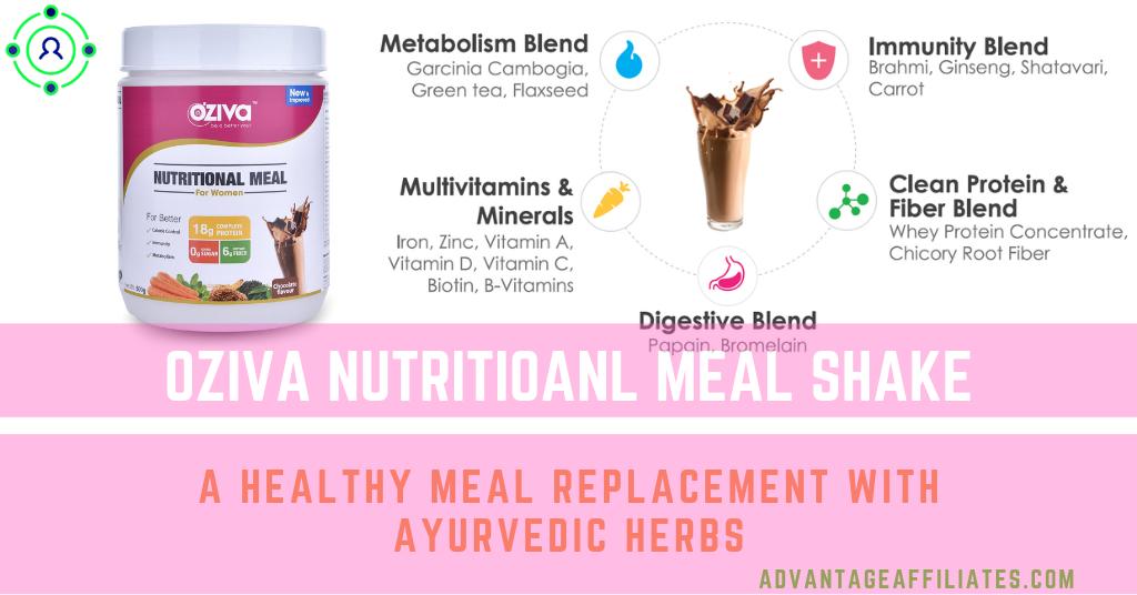 oziva Nutritioanl Meal Shake