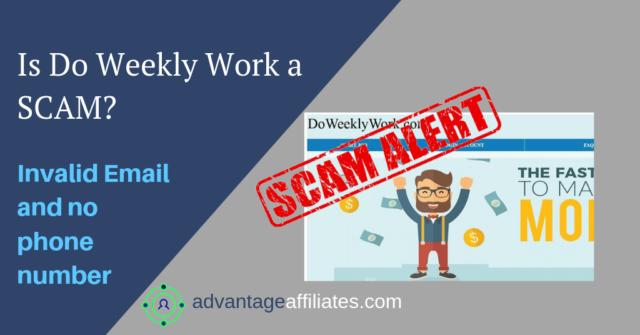 is do weekly work is a scma?