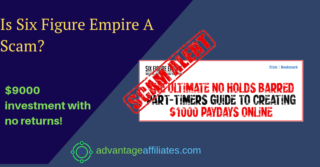 A six figure empire Review