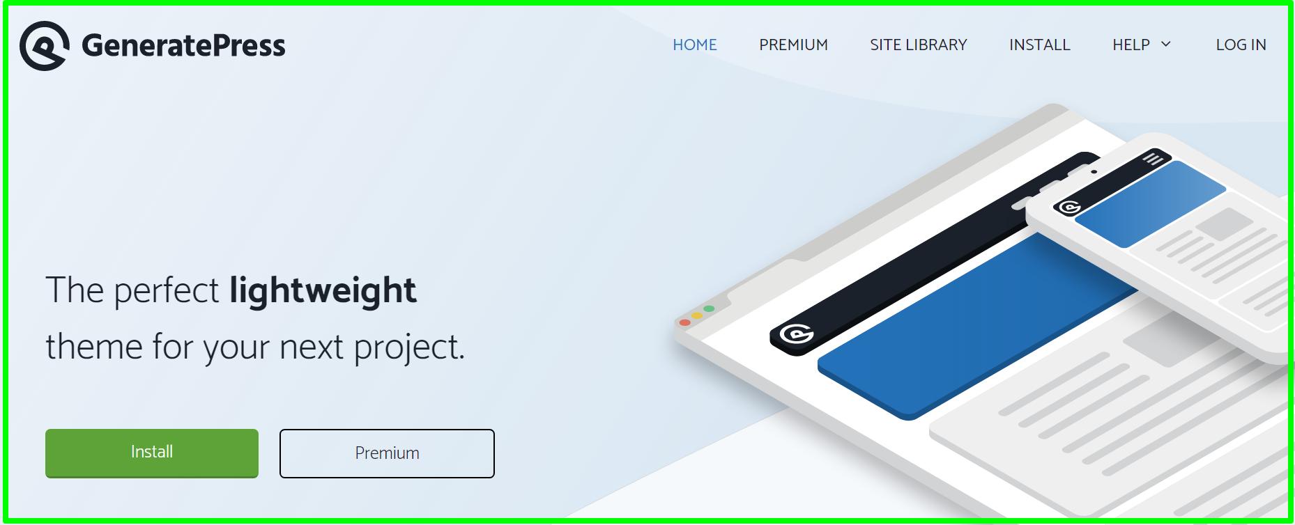 GeneratePress - Lightweight Responsive WordPress Theme