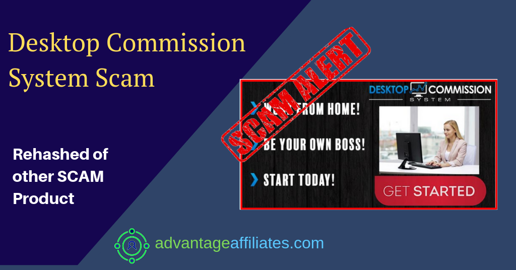 desktop commission sytem scam