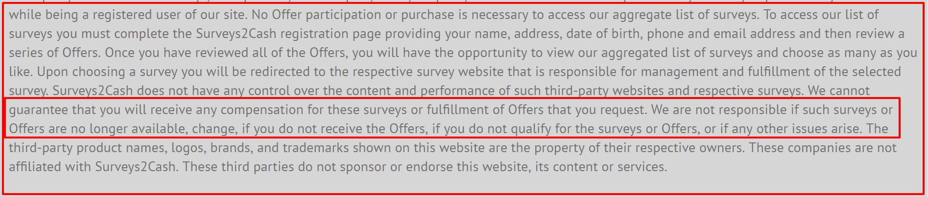 no pya surveys2 scam