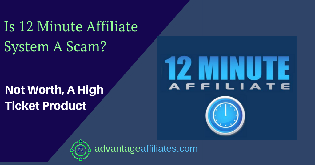 12 Minute Affiliate System  Coupons Don'T Work