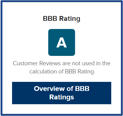 BBB rating for quickrewards
