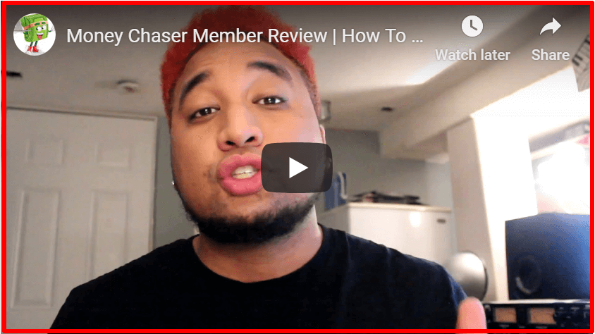 fake testimonials by Money Chaser