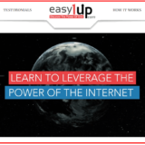 homepage of easy1 up