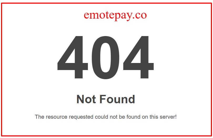 emotepay 404