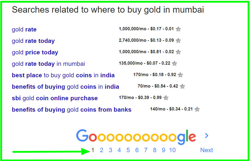 footer results where to buy gold in mumbai - Google Search (3)