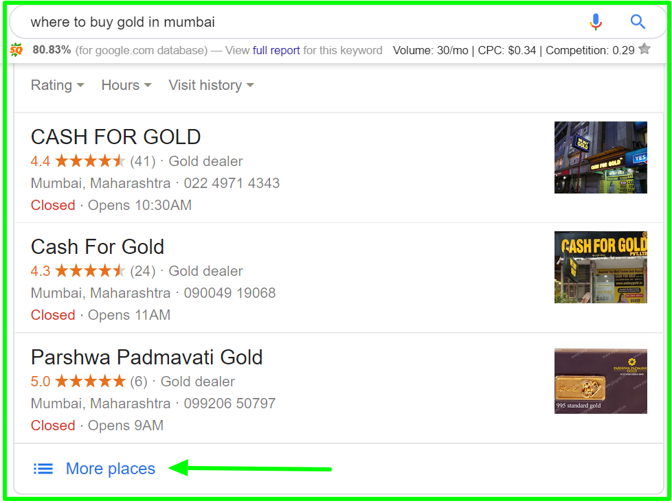 for local seo business - where to buy gold in mumbai - Google Search (5)
