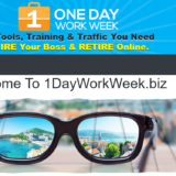 homepage of 1dayworkweek