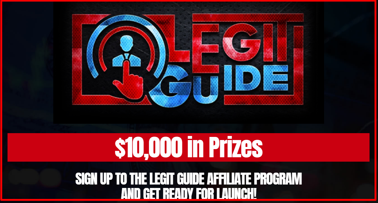affiliate prizes by Legit Guide