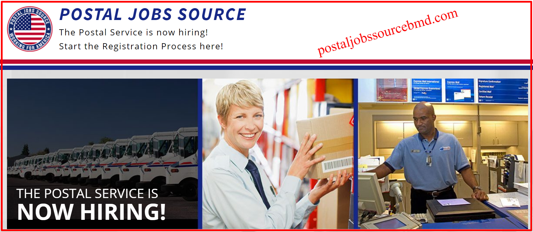 sister website of postal jobs source