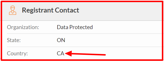 canada whois data of tap2earn