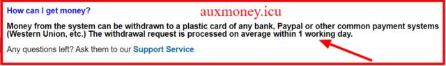 FAQ AuxMoney