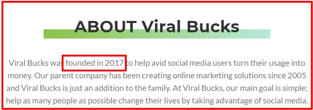about viral bucks
