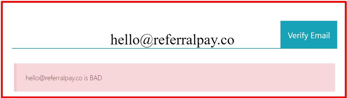 fake email referral pay