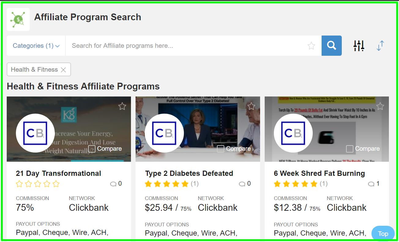 dedicated platform for affiliates within WA
