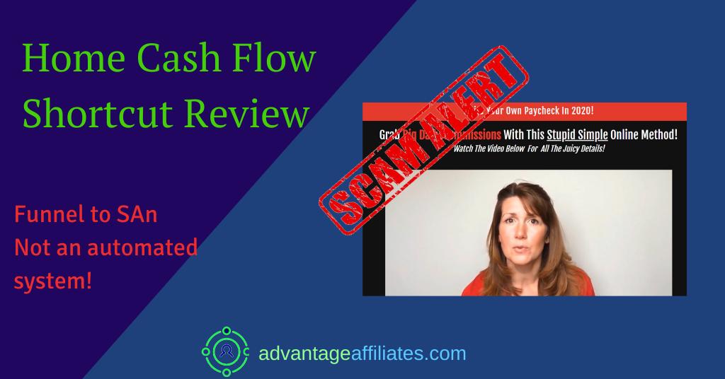 feature image of home cash flow shortcut