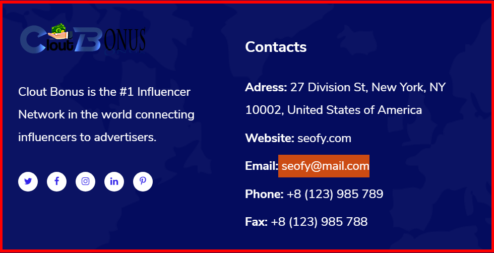 contact info aof cloutbonus