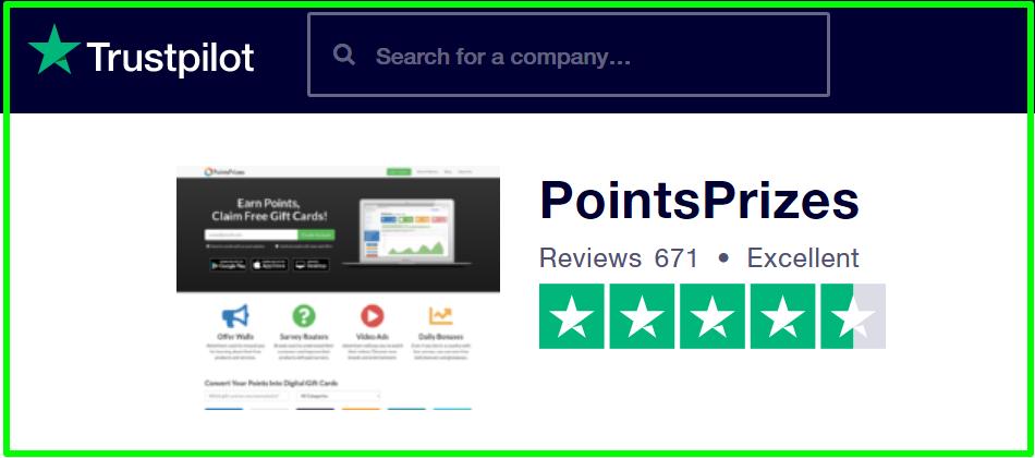 trustpilot ratings