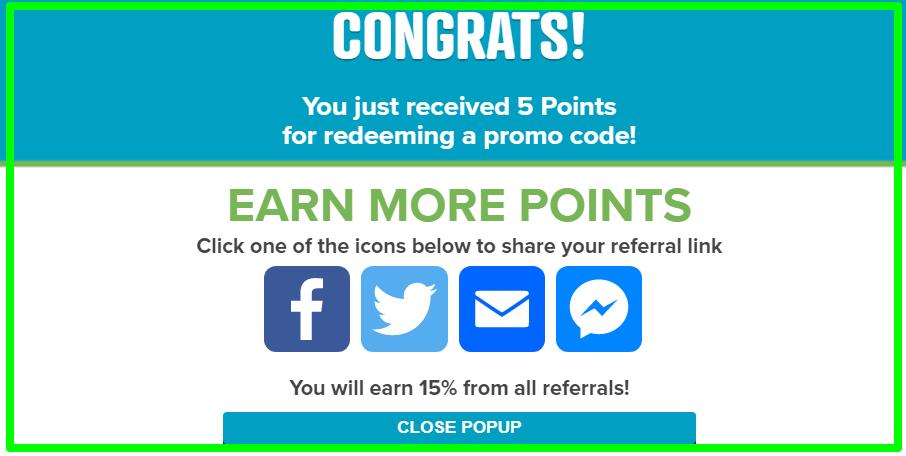 free points prize rebel review