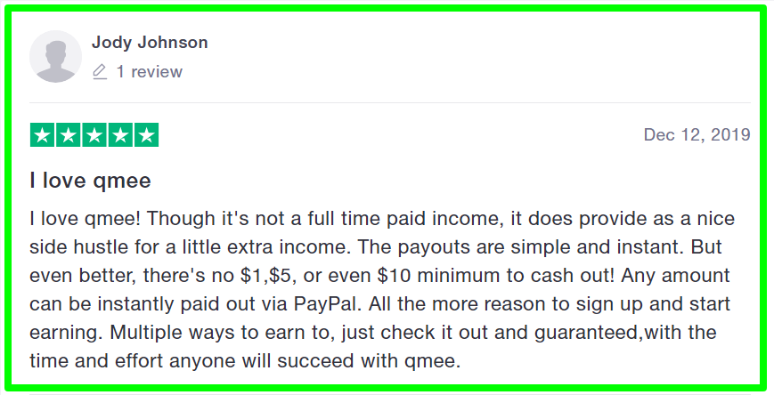 qmee review- members opinion
