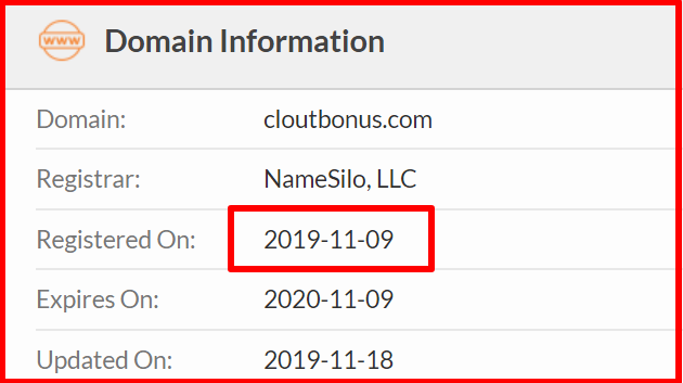 whois of cloutbonus