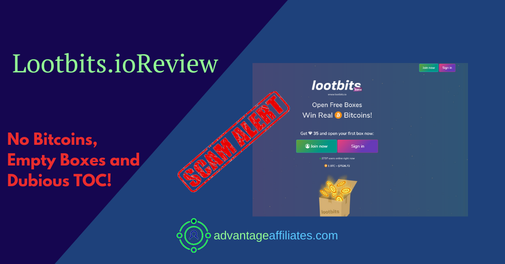 feature image of lootbits.io