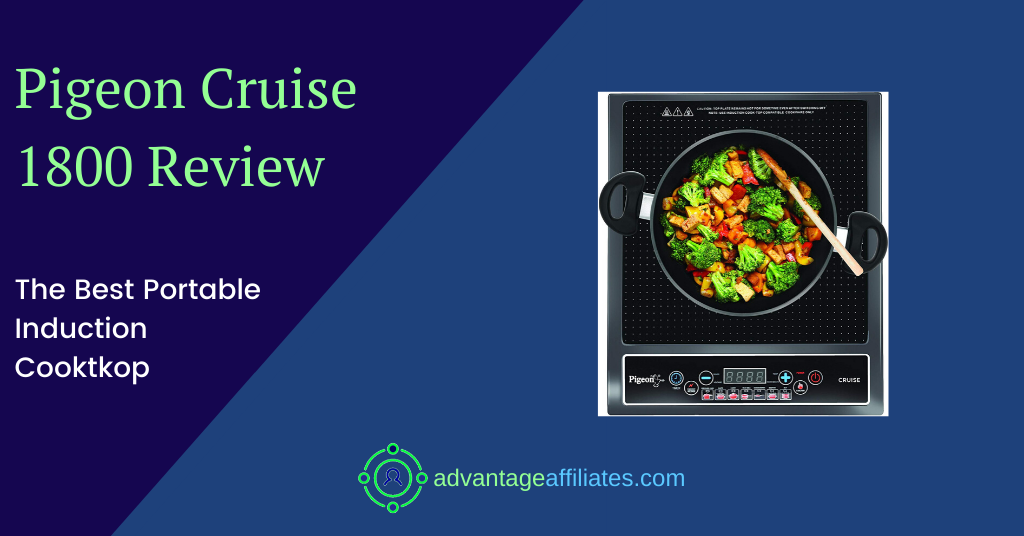 feature image of inductin cooktop pigeon review