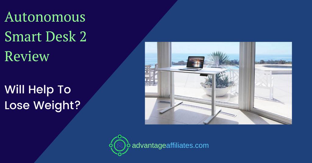 feature image of autonomus smart desk review