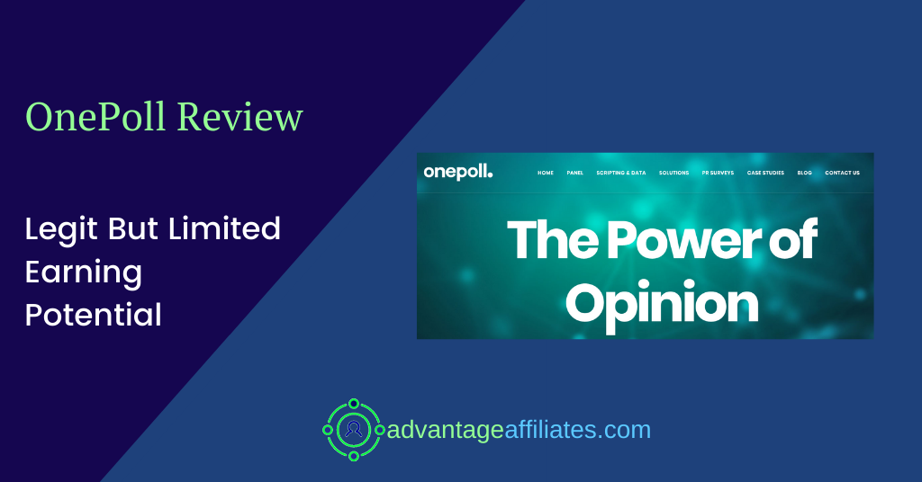 feature image of onepoll review