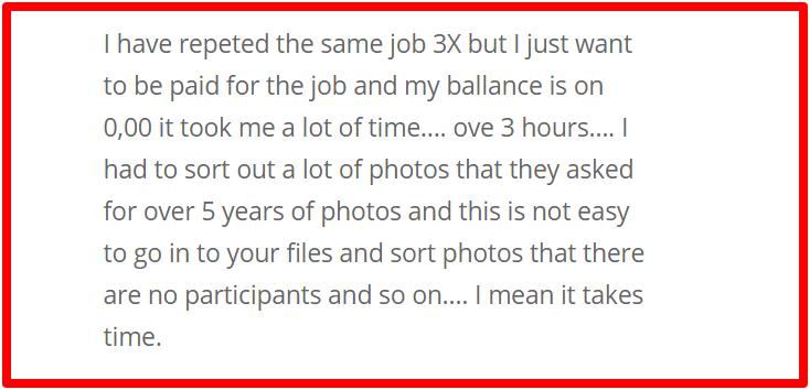 complaints about clickworker